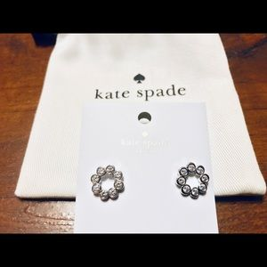 NWT Kate Spade Full Circle Earrings